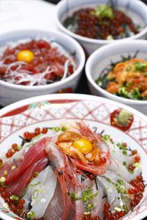 各種海鮮丼