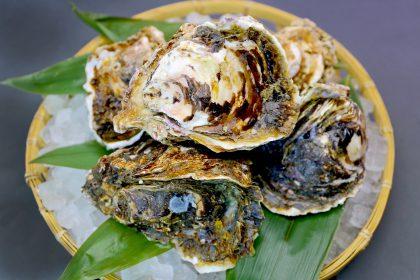 岩牡蠣ザル盛り